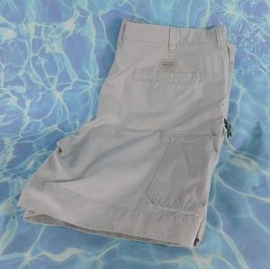 Columbia flat front shorts.  44